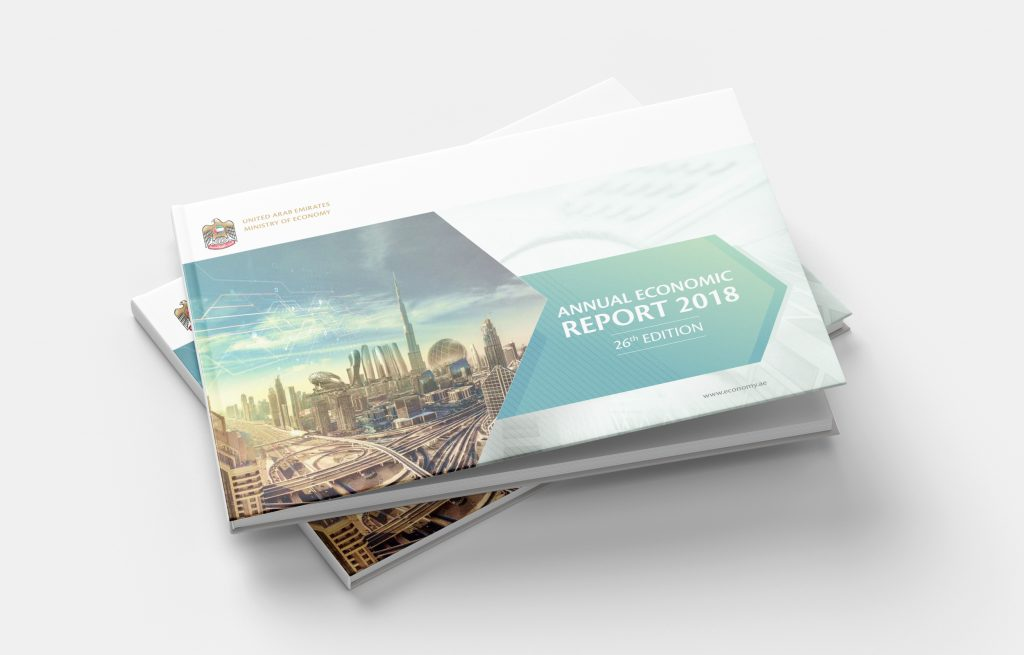 ANNUAL BOOK REPORT DESIGN LAYOUT FOR THE MINISTRY OF ECONOMY